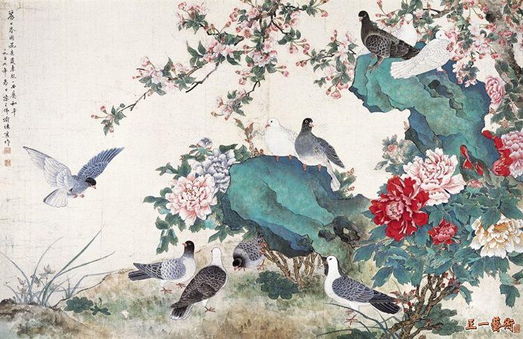 中国名家名画——钓鱼台国宾馆珍藏书画 - 墨海雪浪 - 墨海雪浪