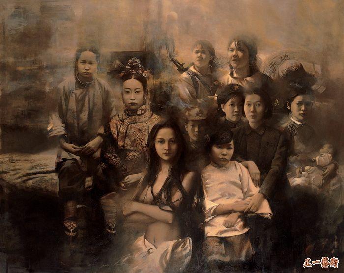 中国名家毛以岗人体油画 - 静涛 - JINGTAOS BLOG