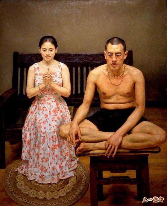 中国写实画派杨飞云油画欣赏 - 静涛 - JINGTAOS BLOG