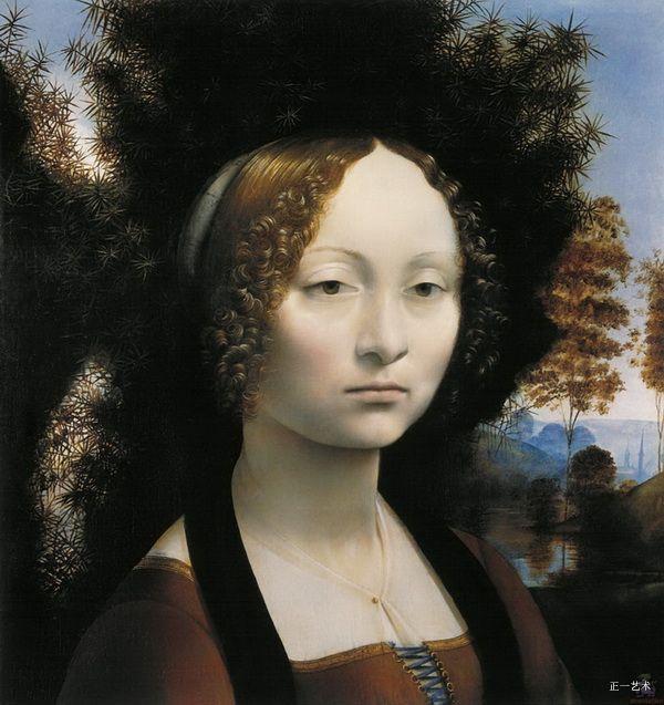 世界名画-达·芬奇的画 - 清影 - 清影摇风