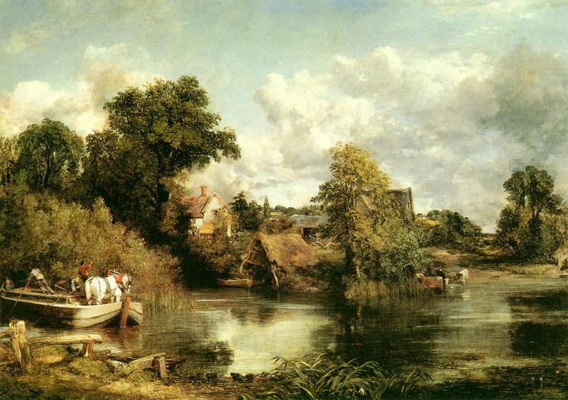 西方绘画大师 -172 约翰·康斯太勃尔 John Constable (1776-1837年) 英国风景画家 【高清大图】 - sdjnwzg - WZG的博客