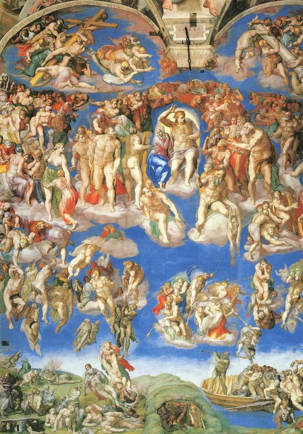 世界名画之二:米开朗基罗作品 - 老排长 - 老排长(6660409)